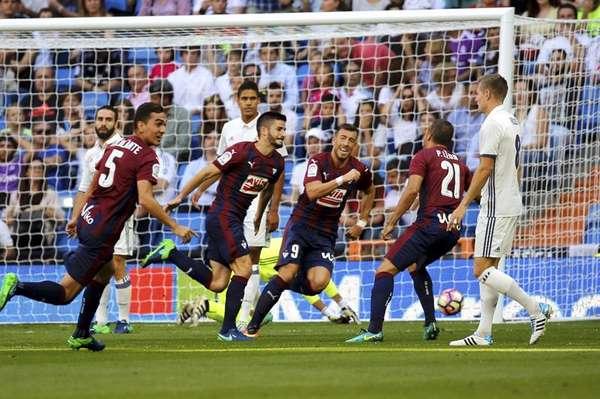 Real Madrid se atasca en la Liga y empata con el Eibar