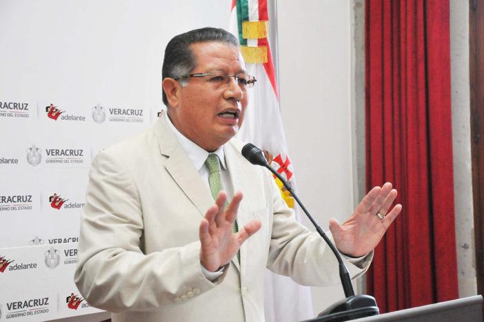 """""""No sé dónde está Javier Duarte"""", dice gobernador interino"""