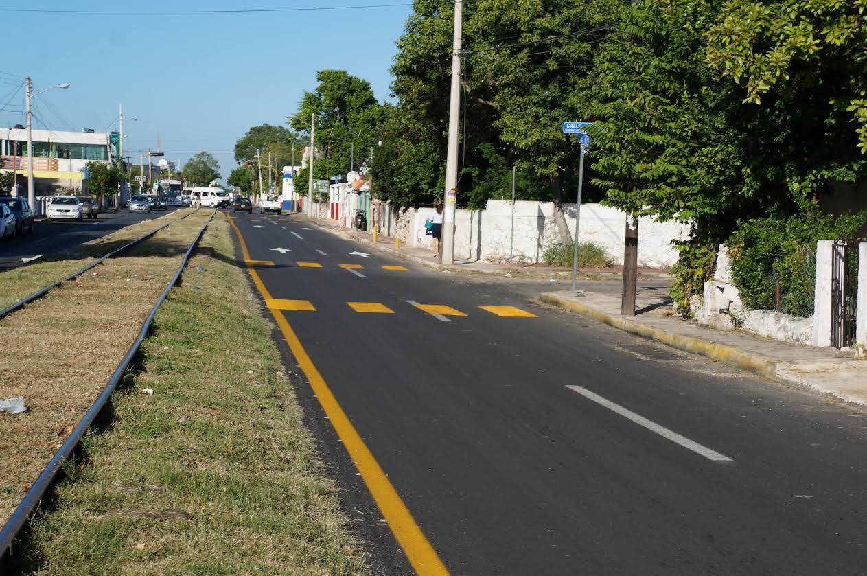 Obras de vialidad en oriente de Mérida