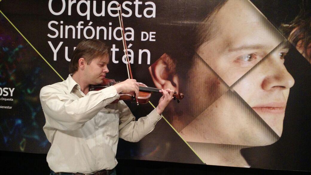 Mykyta Klochkov ofrecerá concierto con violín del siglo XVII