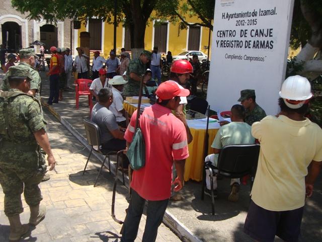 Calendariza Sedena canje de armas de fuego en Yucatán