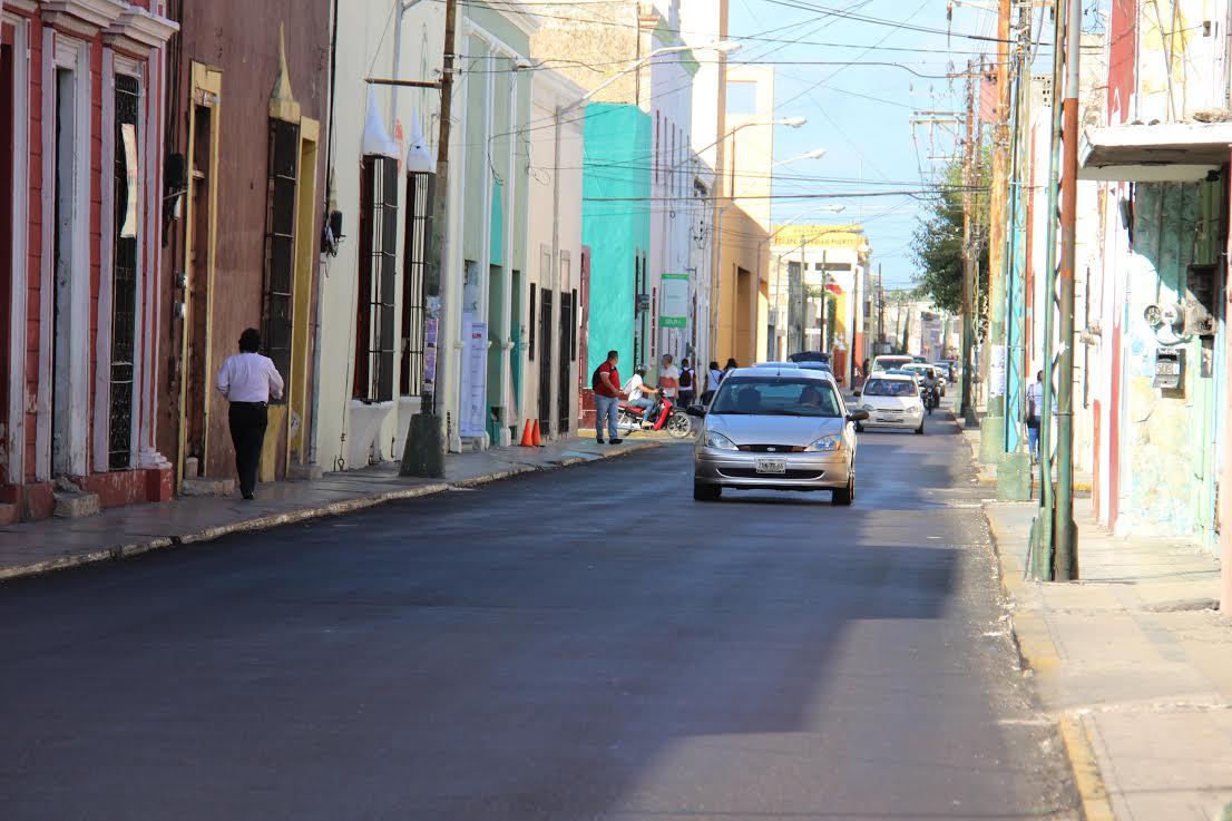 Cierra Mérida a vehículos tramos con 17 cruceros del centro histórico