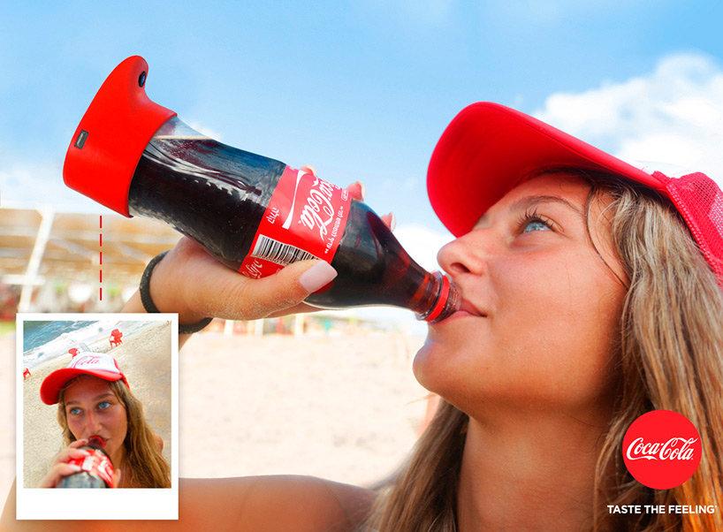 """Coca Cola presenta una botella especial para tomar """"selfies"""""""