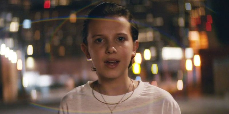 Eleven de 'Stranger Things' protagoniza video musical