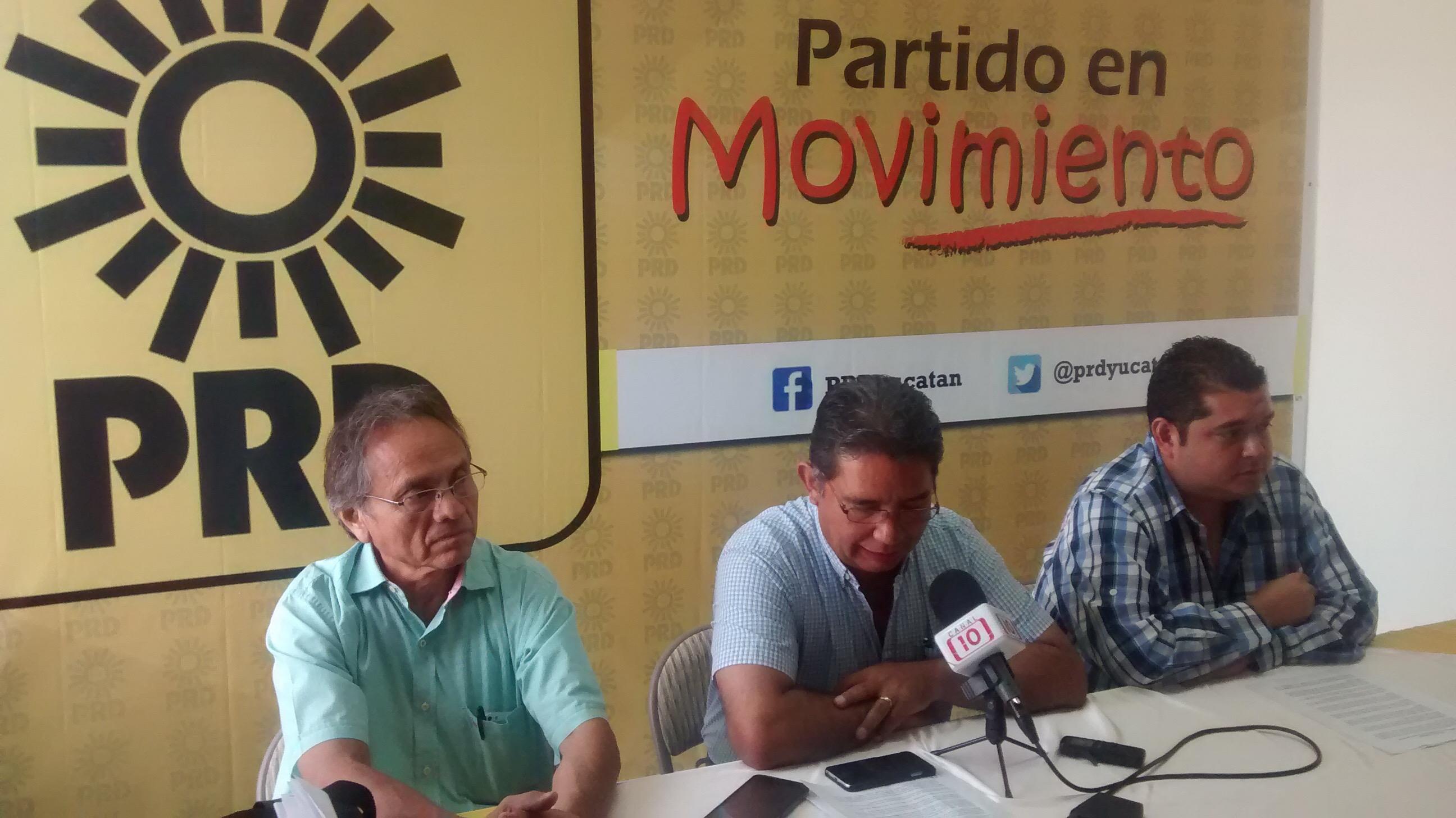 Retomará PRD protestas contra Reforma Energética