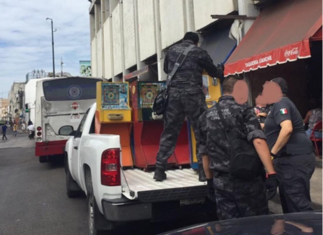 Retira PGR 30 minicasinos en Mérida e Ixil