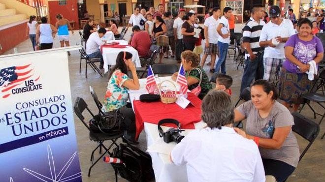 Preparan plan ante masiva deportación de yucatecos