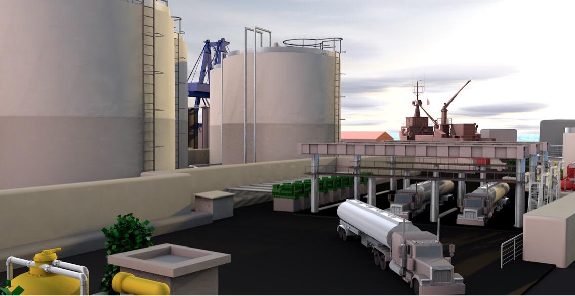 Construye Lodemo terminal de combustibles en Progreso