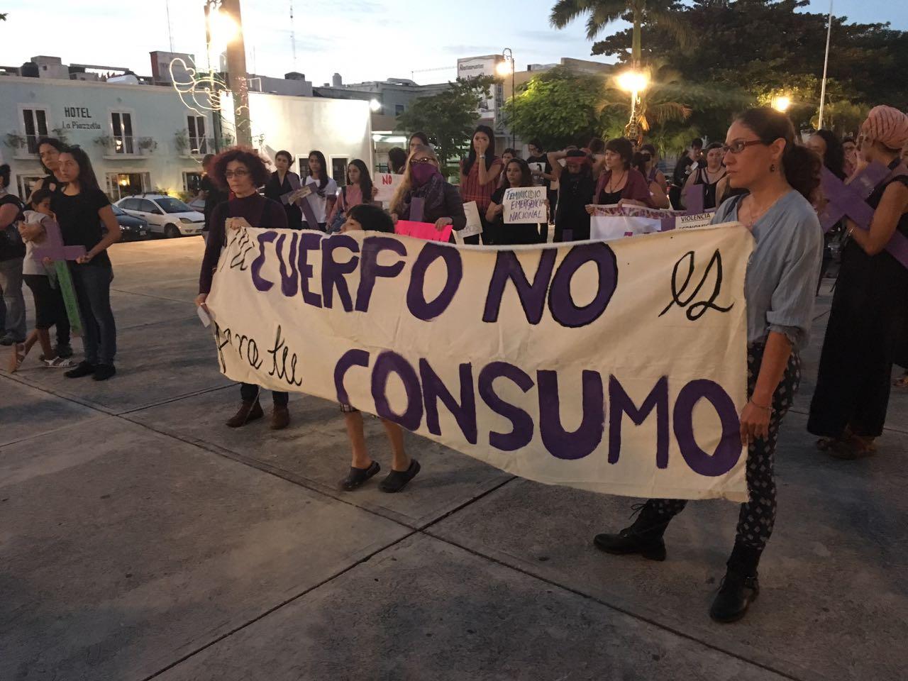 """Exigen """"alto a violencia contra las mujeres"""""""