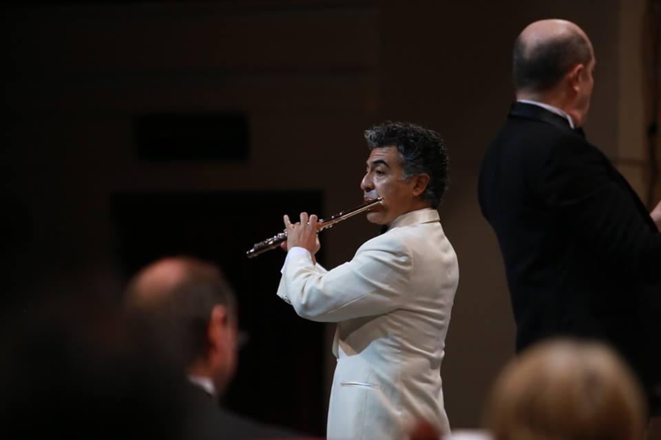 Renacimiento de la flauta transversa con la OSY