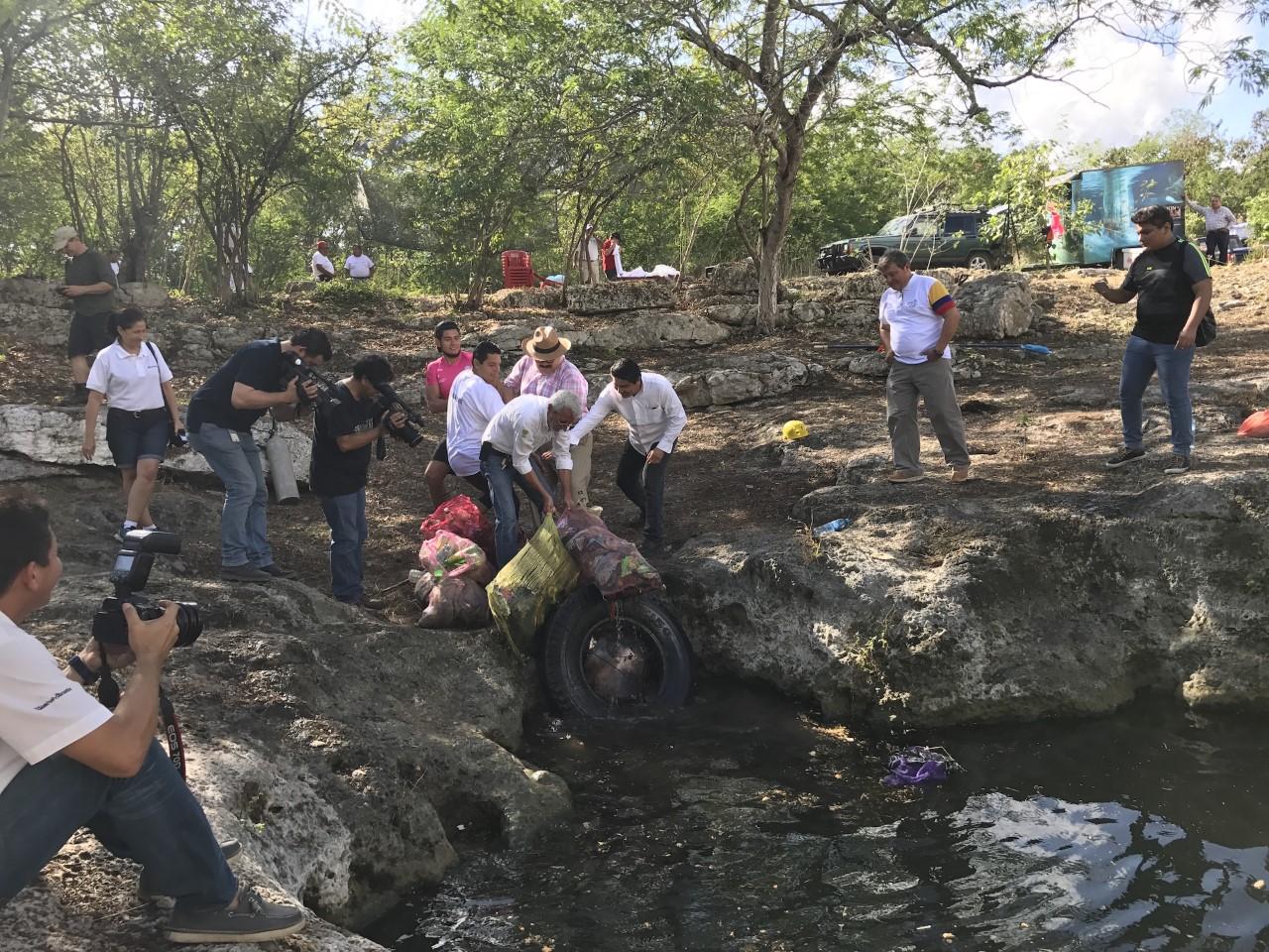 Apoya Ramírez Marín rescate de cenotes