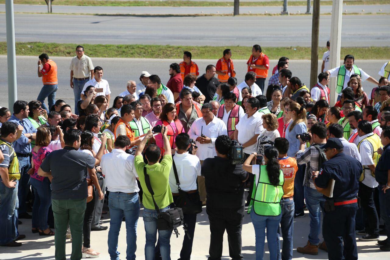 CumpleCongreso Yucatán simulacro de incendio