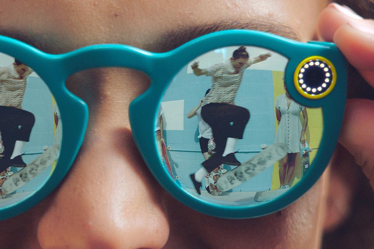 Gafas de Snapchat son todo un éxito, se agotan en un día