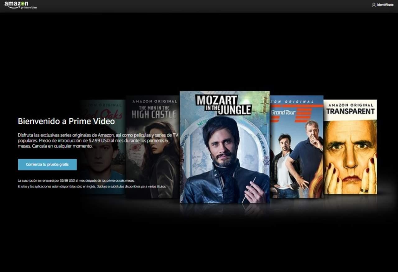 Amazon, la nueva competencia de Netflix en México