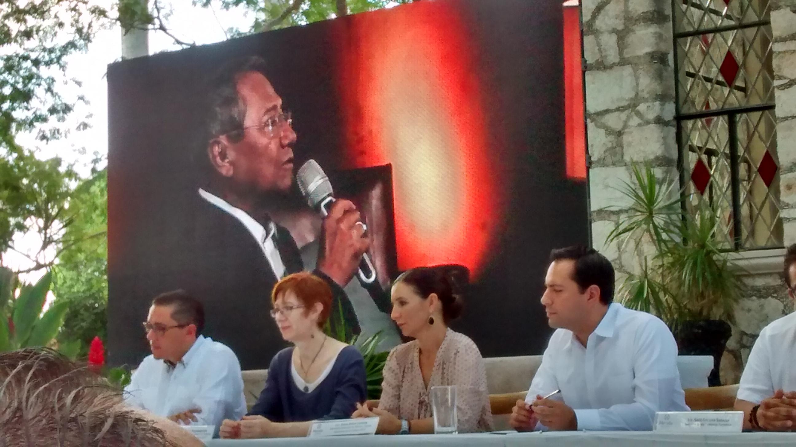 Lanzan programa de 'Mérida, Capital Americana de la Cultura'
