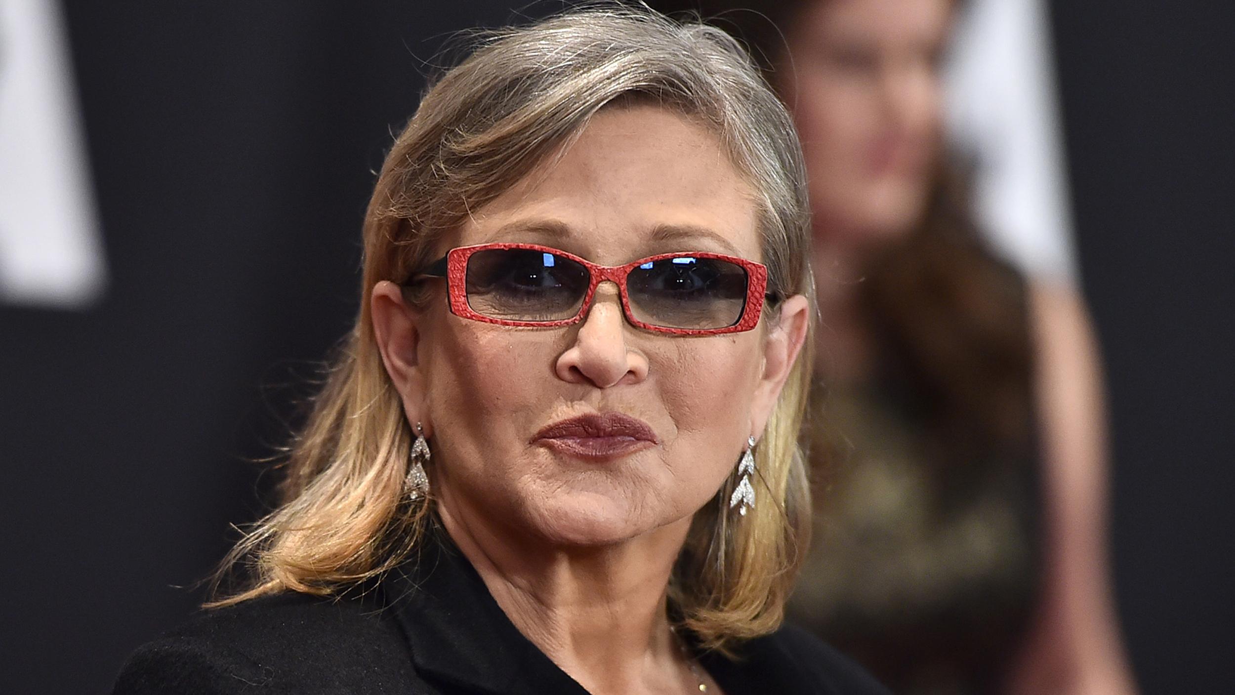 Carrie Fisher hospitalizada tras infarto