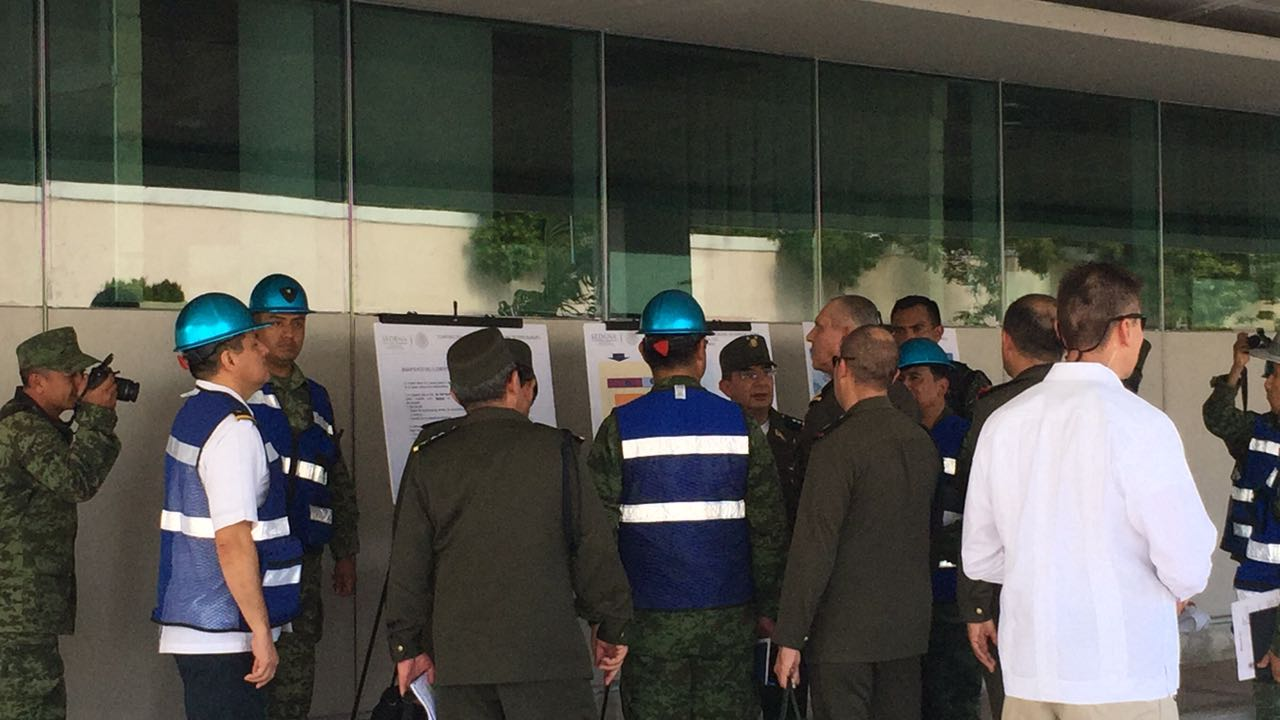 Visita relámpago de Cienfuegos en hospital de Mérida