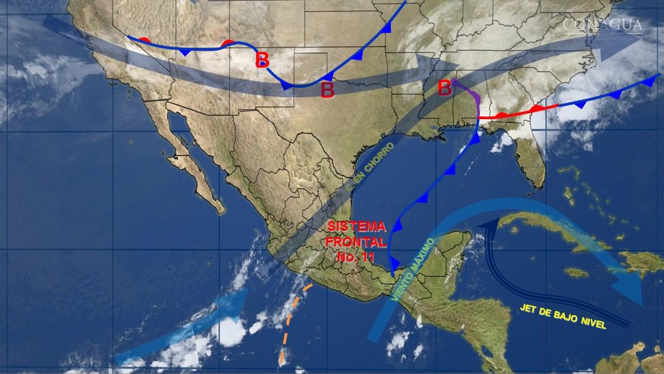 Frente Frío refrescará Península Yucatán viernes y sábado
