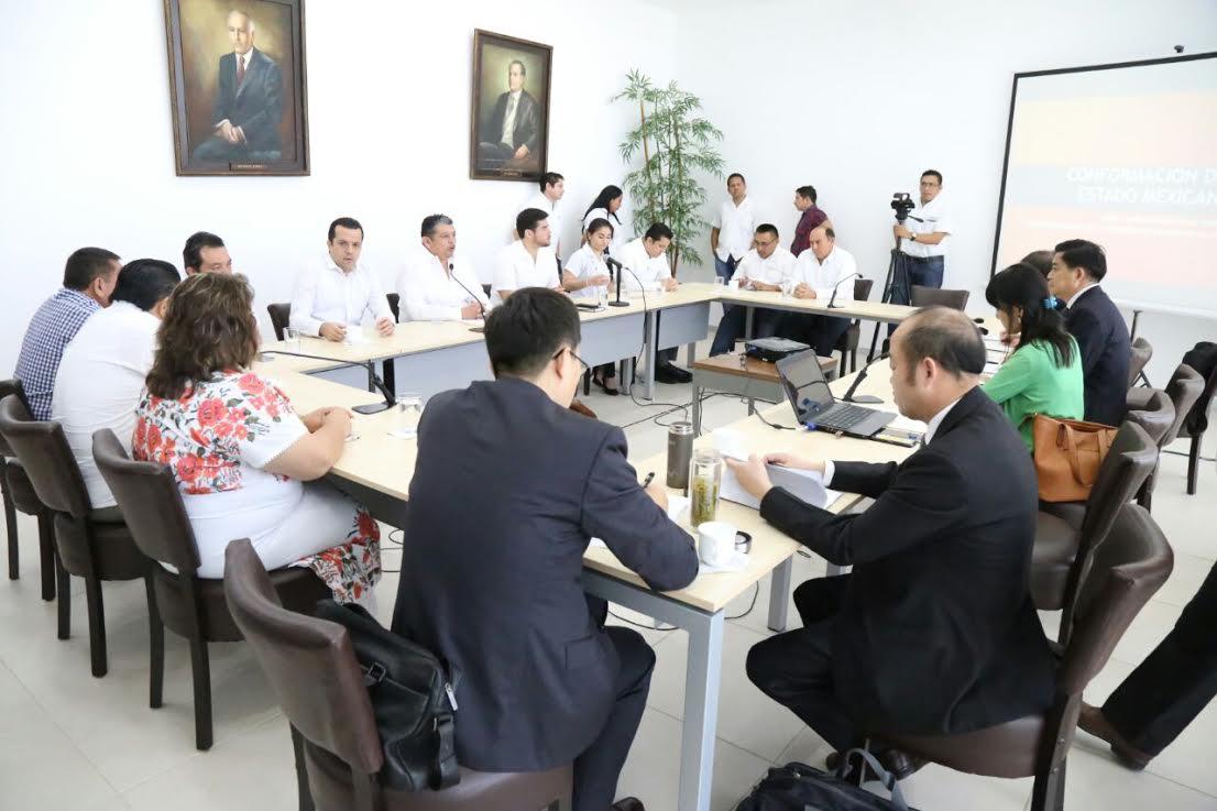 Delegación China visita el Congreso de Yucatán