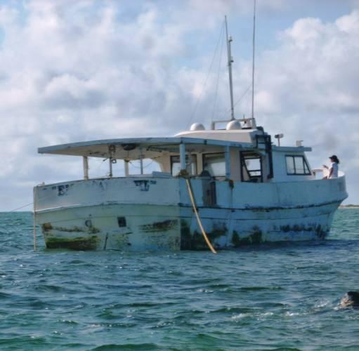 Casi 2 mdp de multa por encallamiento en Arrecife Alacranes