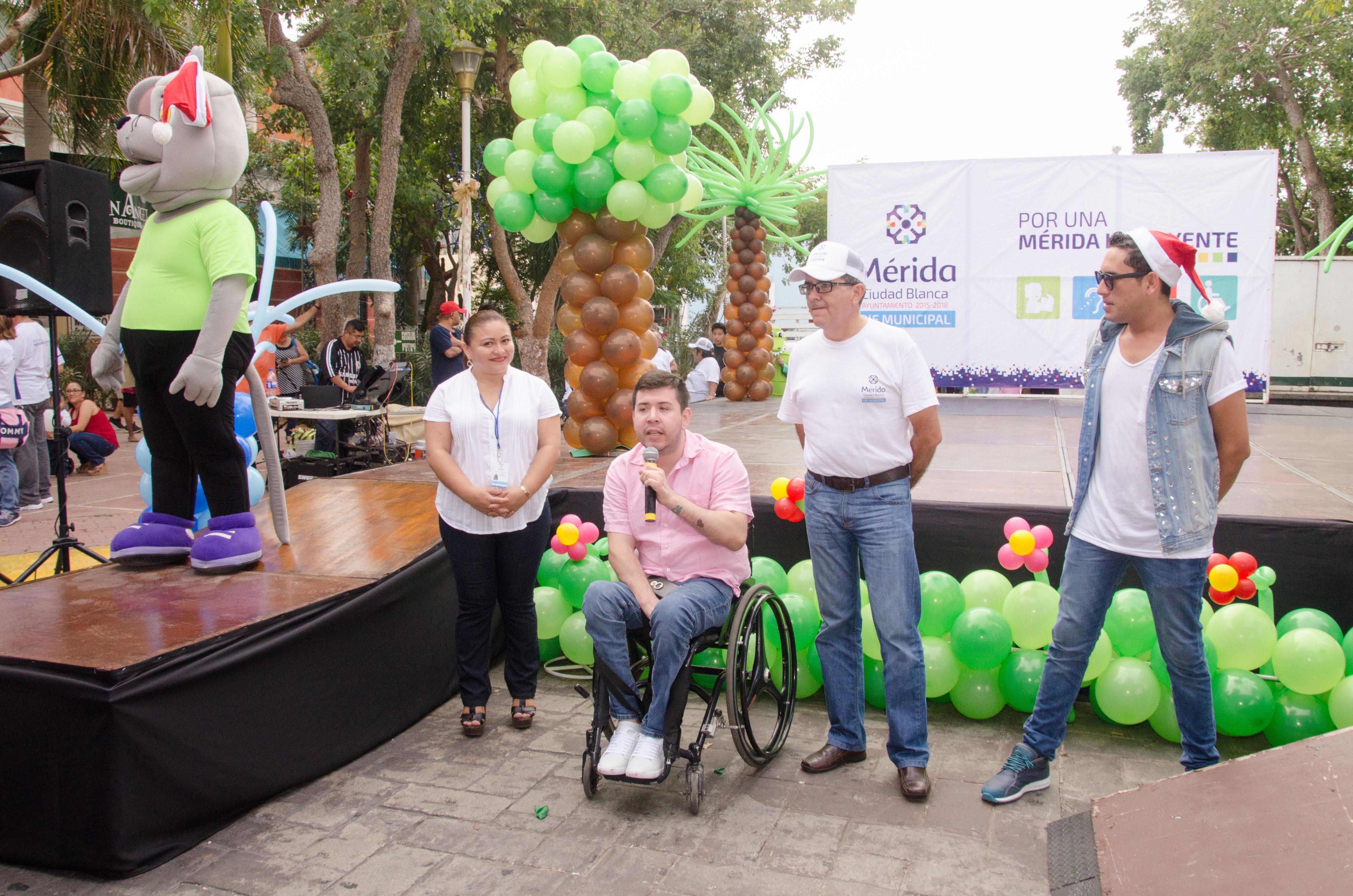 En Mérida, primera Feria de la Inclusión para personas con discapacidad