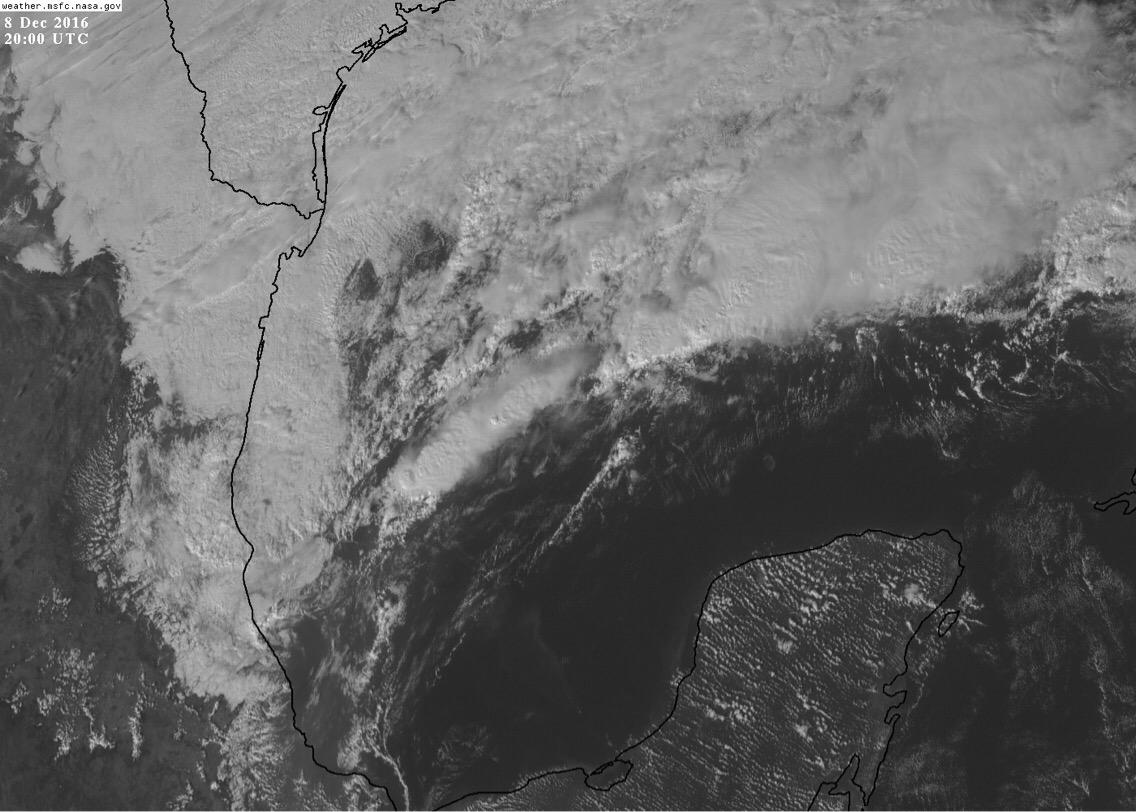 Prepárese por efectos de frente frío en Península de Yucatán