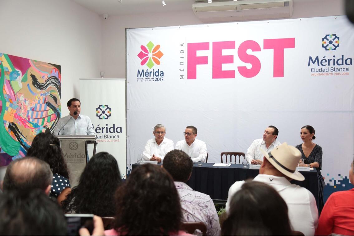 Mérida Fest abrirá programa de celebraciones en 2017