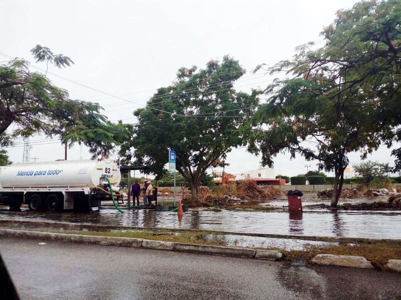 Cayó en Mérida 10% de lluvia de todo un año