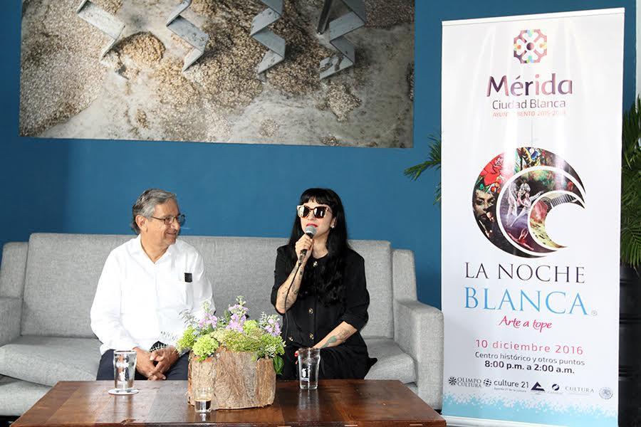 Mérida inspira a Mon Laferte