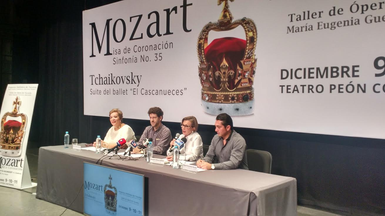 Con obra cumbre de música sacra cerrará OSY 2016