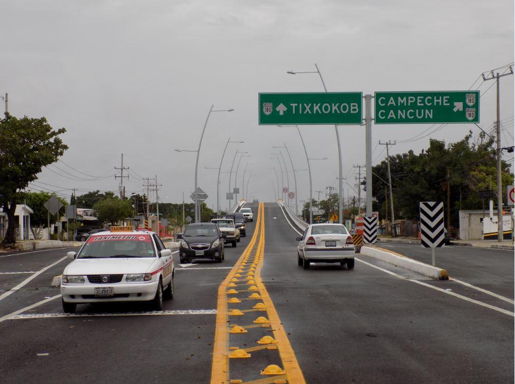 Con último puente abierto, periférico de Mérida libre de semáforos