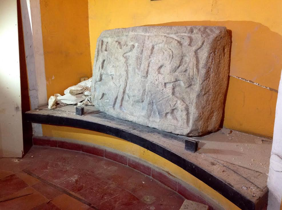 """Inmobiliaria """"presta"""" pieza arqueológica a Palacio Cantón"""