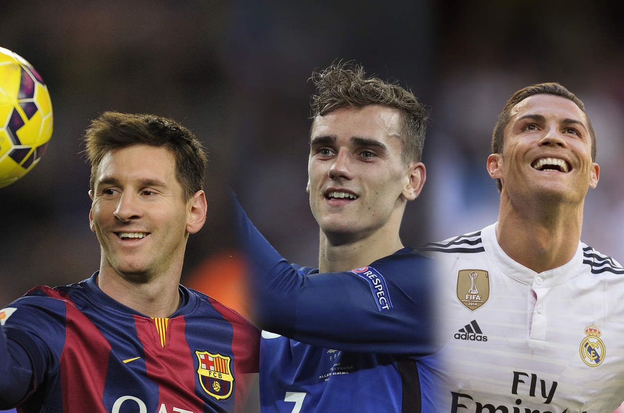 Messi, Cristiano y Griezmann son finalistas de The Best