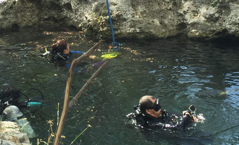 Cenotes de Mérida, afectados por basura y vandalismo
