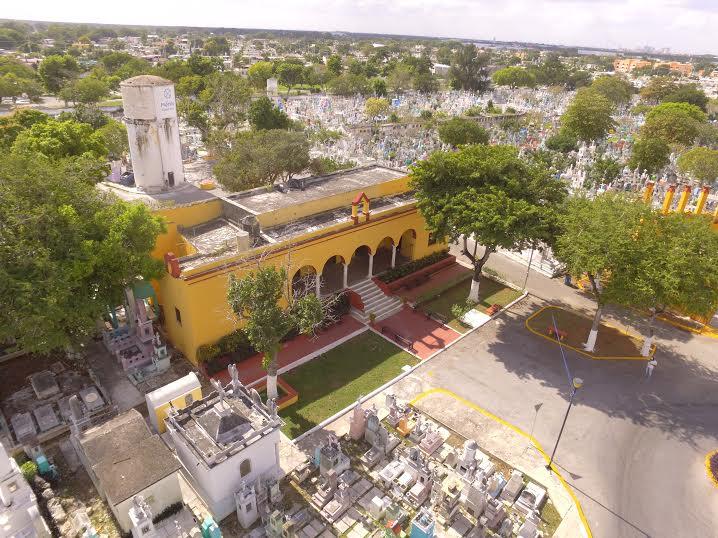 'Radiografía fotográfica' de cementerio en Mérida
