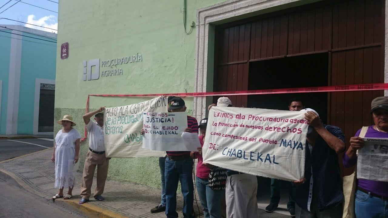 Quieren nulidad en venta de tierras en Chablekal