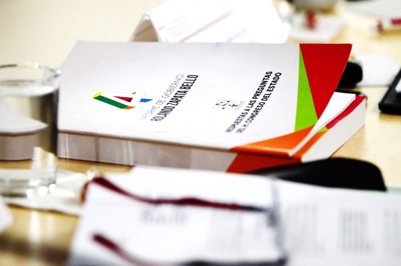 Inician comparecencias de Glosa del 4to. Informe de Gobierno