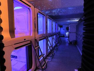 Hotel con cápsulas espaciales en lugar de habitaciones