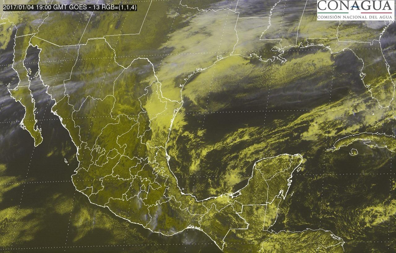 Pronóstico de escasas lluvias enero-febrero en México