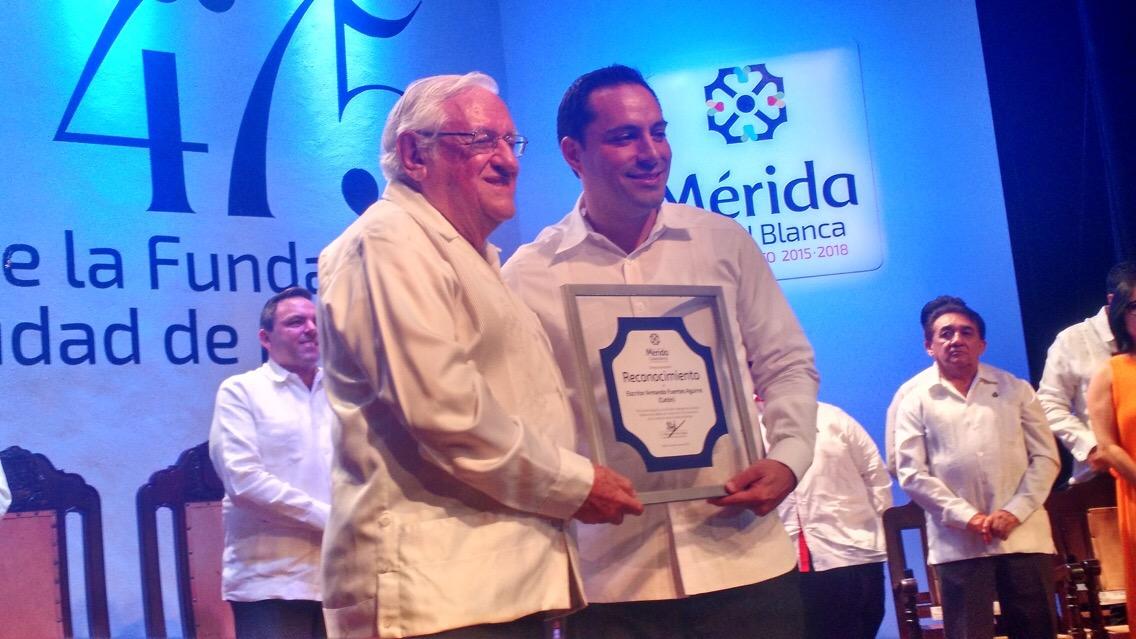 Cultura da sustento a Mérida.- Armando Fuentes Aguirre