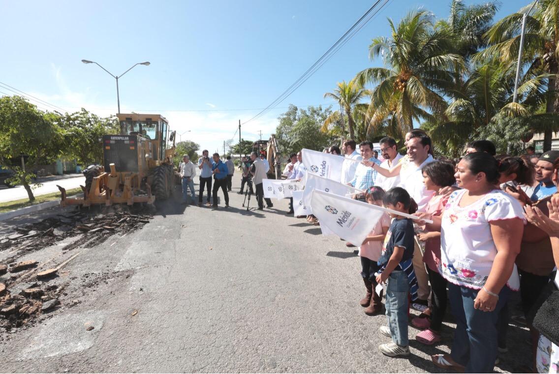 Arranca en Mérida programa de mejoramiento urbano