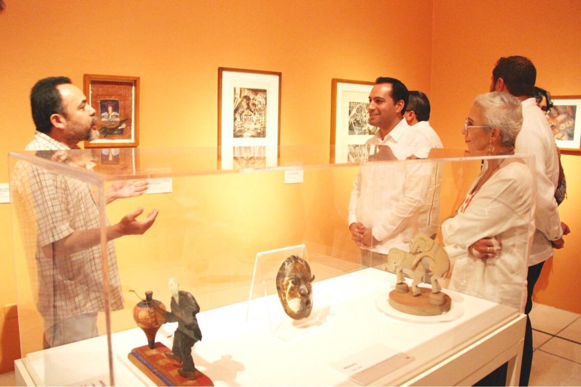 El arte en Mérida; casi 130 obras en el Olimpo