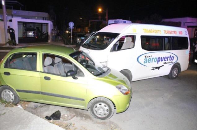 Seis lesionados por choque en la Garcia Ginerés