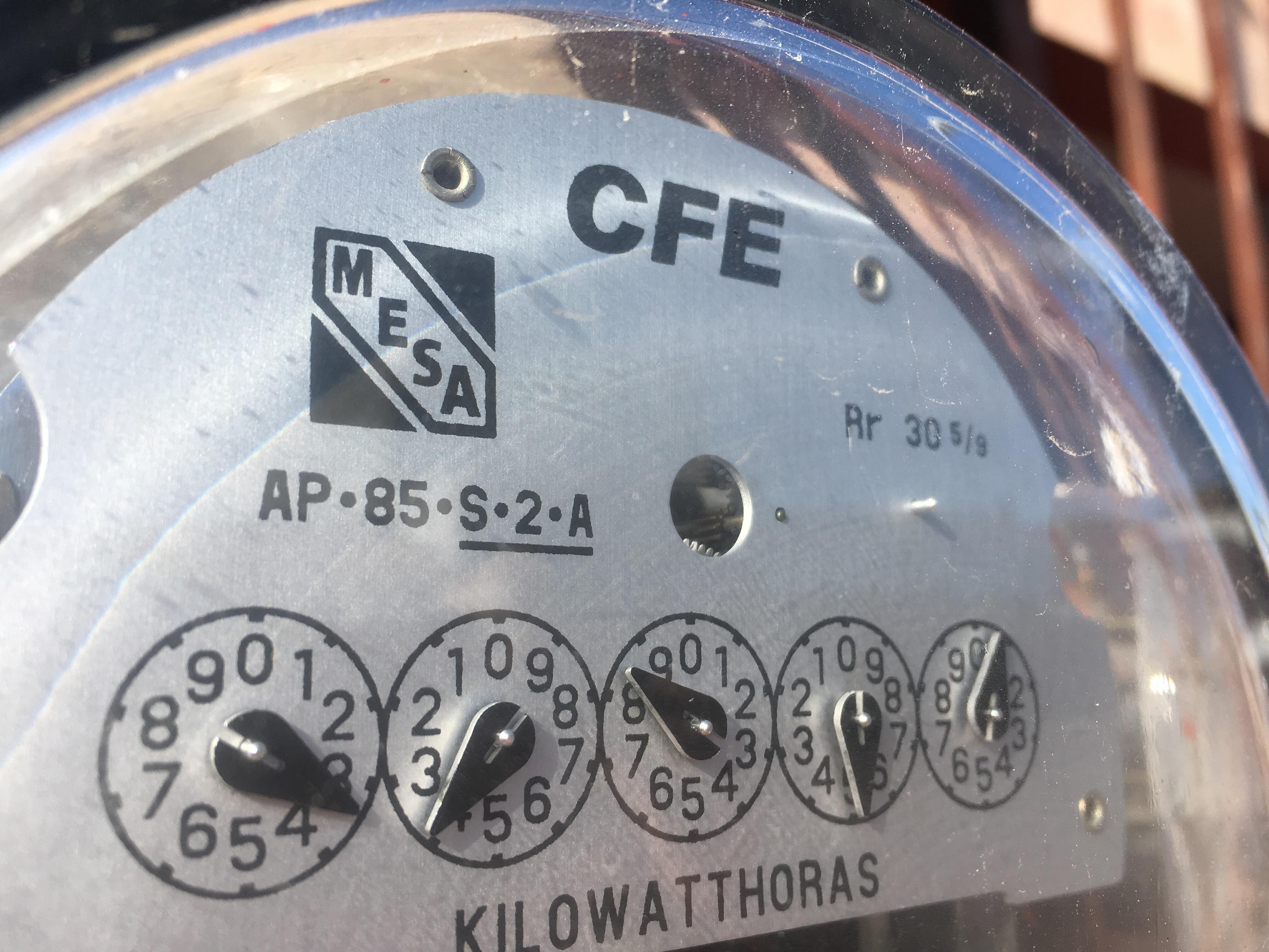 Tarifas de electricidad son más baratas ahora.- CFE