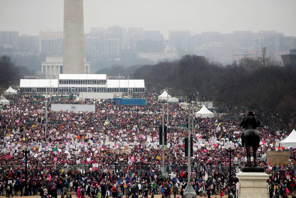 'Marcha de las Mujeres' convoca a miles de personas contra Trump
