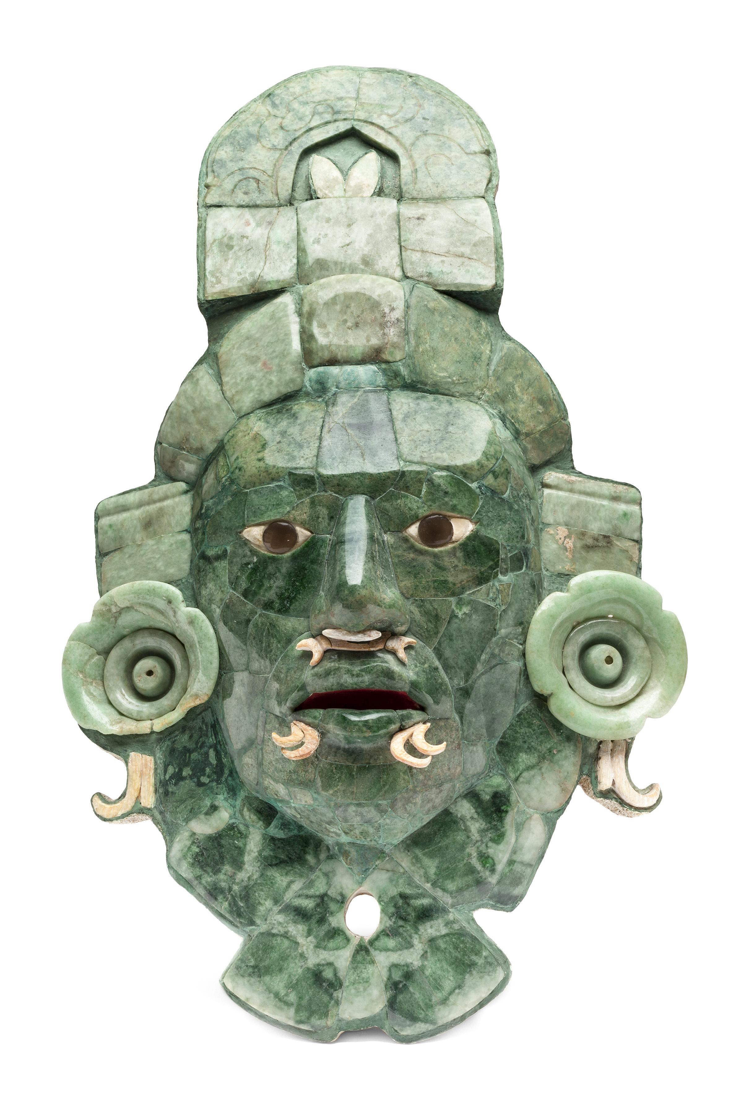 La Máscara de Calakmul regresa a Campeche