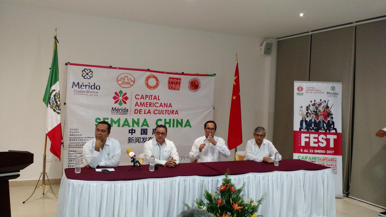 Regresa arte y cultura de China en Mérida