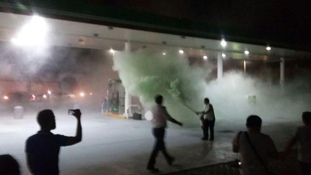 Estalla violencia en QRoo por gasolinazo