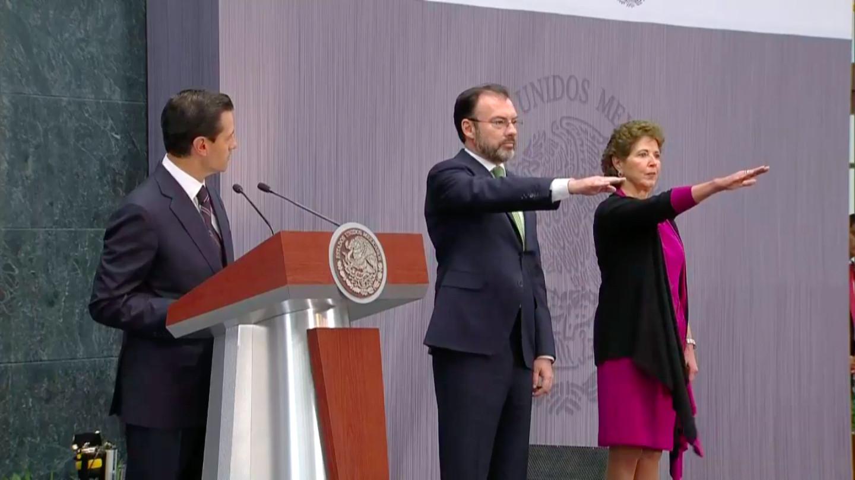 """Va Videgaray a """"acelerar diálogo y contactos"""" enEU"""