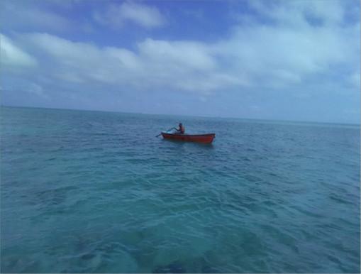 Pasa primeros 5 días del año extraviado en alta mar